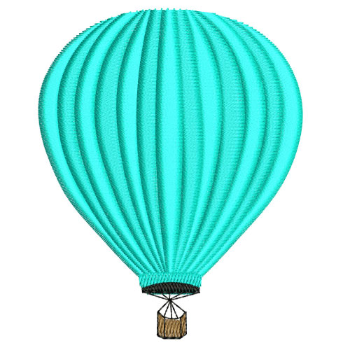 Hot Air Baloon Embroidery Designs