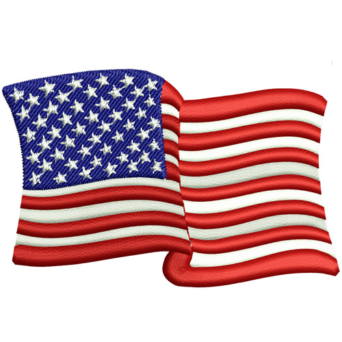 Download Waving American Flag Pic Gif